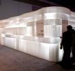 Лентовидные модули из крафт-бумаги с подсветкой molo design