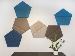 BuzziSpace BuzziTile - декоративные стеновые акустические панели