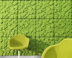 Шумопоглощающие стеновые панели Leaves