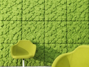 Johanson Design Leaves - декоративные акустические настенные панели