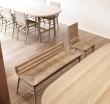 Дизайнерские скамейки и стулья Alki