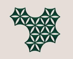 Декоративные звукопоглощающие элементы Abstracta Airflake