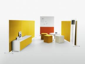 Abstracta Alumi Floor - мобильная напольная акустическая ширма-перегородка