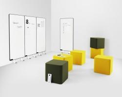 Дизайнерские пуфы Abstracta Base
