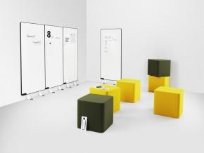 Abstracta Base - легкий пуф в современном стиле