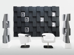 Abstracta Window Wall - декоративные звукопоглощающие настенные панели