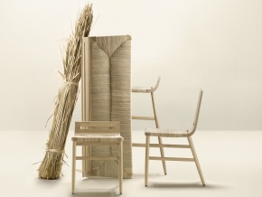 Alki Kimua - плетеные стулья в современном стиле