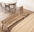 Дизайнерские стулья и скамейки Alki Kimua