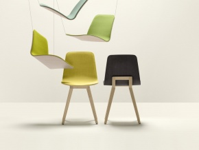 Alki Kuskoa - деревянный стул в современном стиле