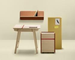 Дизайнерские стол, тумба, полка Alki Landa