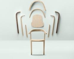 Дизайнерские стулья из массива дуба Alki Makil