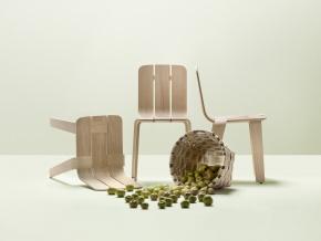 Alki Saski - деревянные стулья в современном стиле