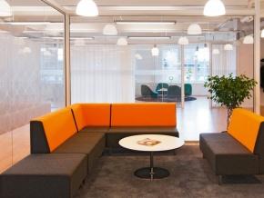 Johanson Design U-Sit - модульные диваны в современном стиле