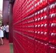 Декоративные стеклянные блоки Fred & Fred illuminate Wall