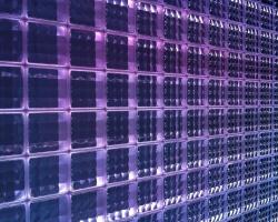 Декоративные стеклянные блоки с подсветкой Fred & Fred illuminate Wall Led