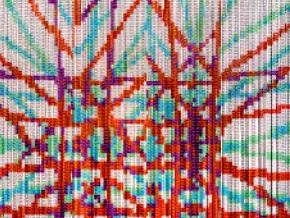 KriskaDECOR Gypsette - металлические шторы-перегородки из алюминия