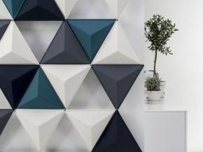 Abstracta Aircone - декоративные настенные звукопоглощающие панели