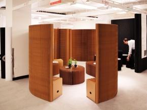molo benchwall, thinwall, fanning bench - модульная трансформируемая мебель