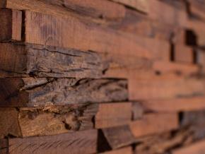 Wonderwall Studios Jagger - декоративные настенные панели из восстановленной древесины
