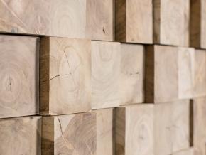 Wonderwall Studios Jungle - декоративные настенные панели из восстановленной древесины