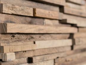 Wonderwall Studios Parker - декоративные настенные панели из восстановленной древесины