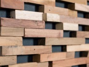 Wonderwall Studios Springs - декоративные настенные панели из восстановленной древесины
