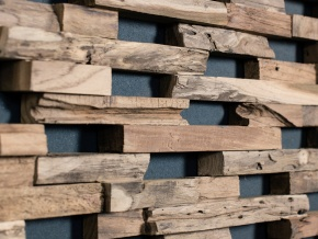 Wonderwall Studios Train - декоративные настенные панели из восстановленной древесины
