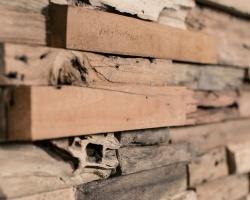 Настенные панели из восстановленной древесины Wonderwall Studios Wheels