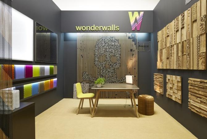 Выставка АРХ Москва 2015 - стенд компании WonderWalls