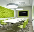 Офис компании Ронова - настенные панели Leaves