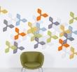 Ecoustic® Foliar - Акустические панели, Войлок / Текстиль