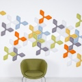 Интерактивные акустические панели Wovin Wall Ecoustic Foliar