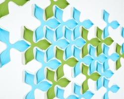 Интерактивные панели Wovin Wall Foliar