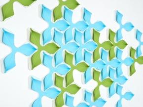 Интерактивные стеновые панели Wovin Wall Foliar