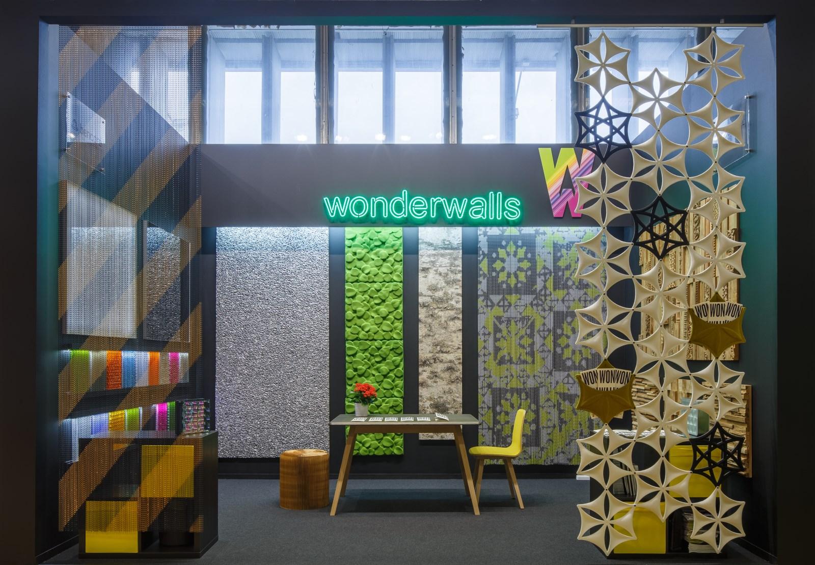 АРХ Москва 2016 - стенд компании WonderWalls