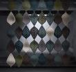 Акустическая подвесная ширма-перегородка Abstracta Airleaf