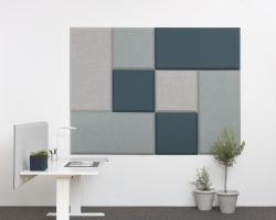 Настенные звукопоглощающие панели Abstracta Domo Wall