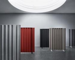 Напольная акустическая ширма-перегородка Abstracta Scala Floor