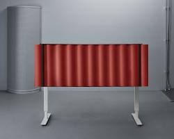 Настольный акустический экран-перегородка Abstracta Scala Table