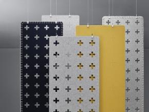 Abstracta Combo Cross - акустическая подвесная ширма-перегородка