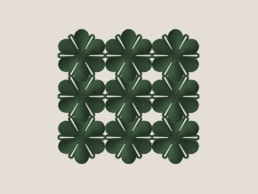 Abstracta Airbloom - декоративная звукопоглощающая ширма-перегородка