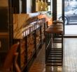"""Декоративные панели из восстановленной древесины WonderWall Studios в интерьере """"Рынок и Общепит Шук"""""""