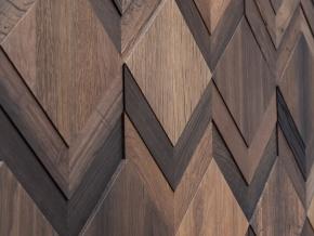 Wonderwall Studios Clue - декоративные стеновые панели из восстановленной древесины