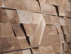 Wonderwall Studios Jazz - декоративные стеновые панели из восстановленной древесины
