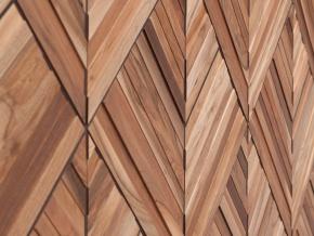 Wonderwall Studios Leaf - декоративные стеновые панели из восстановленной древесины