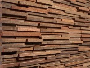 Wonderwall Studios Ludlow - декоративные стеновые панели из восстановленной древесины
