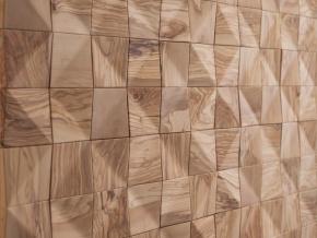 Wonderwall Studios Waves - декоративные стеновые панели из восстановленной древесины