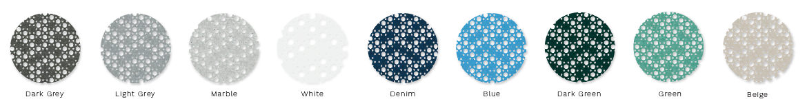Цвета Refelt PET Felt Acoustic Panels — Dots