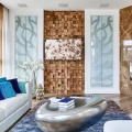 Дизайн квартиры с использованием стеновых панелей Wonderwall Studiuos