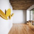 Настенные декоративные акустические панели BuzziSpace BuzziDish